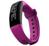 yy m89 мужская женщина умный браслет умный спортивный браслет калибровка калорий сна мониторинг в реальном времени частота сердечных