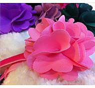 Недорогие -Собака Ошейники Регулируется Цветы Ткань Лиловый Красный Синий Розовый