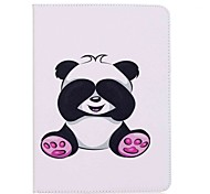 Panda Pattern Card Holder Wallet with Stand Flip Magnetic PU Leather Case for Samsung Galaxy Tab S3 WIFI/LTE T820 T825 9.7 inch Tablet PC