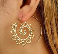 cheap -Women's Stud Earrings / Drop Earrings - Personalized / Fashion Gold / Silver Round Earrings For Casual / Club