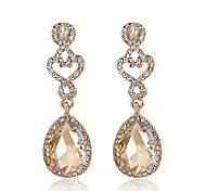 cheap -Women's Drop Earrings Rhinestone Fashion Luxury Acrylic Alloy Drop Jewelry For Wedding Party