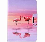 preiswerte -Hülle Für Samsung Galaxy Tab A 9.7 Ganzkörper-Gehäuse Tablet-Hüllen Flamingo Hart PU-Leder für