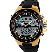 cheap -SKMEI Men's Digital Watch / Sport Watch Cool / Casual Watch Plastic Band Casual Black