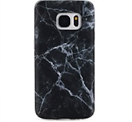 cheap -Case For Samsung Galaxy Pattern Back Cover Marble Soft TPU for S8 Plus S8 S7 edge S7 S6 edge plus S6 edge S6 S6 Active S5 Mini S5 Active
