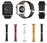 Недорогие -для серии часов для яблока 3 2 1 браслет для ремня для замены натуральной кожи 38 42 мм