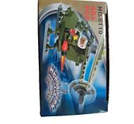 Недорогие -Конструкторы Летающий гаджет Обучающая игрушка 48pcs Мода Летательный аппарат Грузовик профессиональный уровень Аниме Море Вертолет
