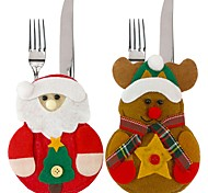 Desktop Organizers Holiday Classic Theme Fairytale Theme People Birthday Non-woven Christmas Decoration