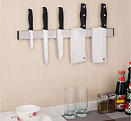 cheap -Stainless Steel Magnetic Knife Holder Storage Strip Kitchen Tool Utensil Rack On