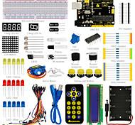 Недорогие -новый! keyestudio базовый учебный комплект для начинающих arduino с uno r3
