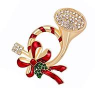 Недорогие -Жен. Броши Синтетический алмаз Сплав Прочее Бижутерия Назначение Рождество Повседневные