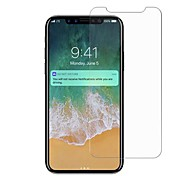 Tempered Glass Screen Protector for Apple iPhone X Front Screen Protector High Definition (HD) 9H Hardness Explosion Proof Scratch Proof