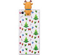 Недорогие -Кейс для Назначение Sony Sony Xperia XA Sony Xperia X Xperia XA1 Ultra Xperia XA1 С узором Своими руками Кейс на заднюю панель Рождество