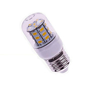 3W E26/E27 LED Corn Lights T 27 SMD 5730 200-300 lm Warm White 2800-3500 K DC 24 V 1pc