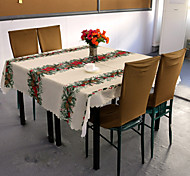 Table cloths , 100% Polyester Material Christmas Kitchen & Dining