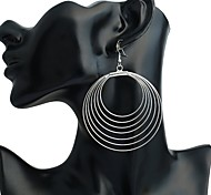 cheap -Women's Stud Earrings / Drop Earrings - Personalized / Fashion Silver Round Earrings For Stage / Club