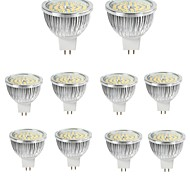 10pcs 6W MR16 LED Spotlight 48*2835SMD 550LM Warm/Cool White Aluminum Spot Lamp AC/DC12V