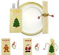 Недорогие -Подарочные мешки Праздник Сказка Люди текстиль Рождественские украшения