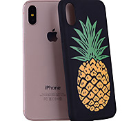 For iPhone X iPhone 8 Case Cover Pattern Back Cover Case Fruit Soft Silicone for Apple iPhone X iPhone 8 Plus iPhone 8 iPhone 7 Plus