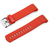 cheap -Rubber Watch Band Strap Red 19cm / 7.48 Inches 2.2cm / 0.9 Inches