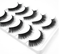 cheap -5 Daily Makeup Full Strip Lashes Thick The End Is Longer Makeup Tools High Quality Daily