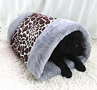 Собака Кровати Животные Подкладки Леопард Серый Кофейный Цвет-леопард
