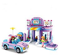 Building Blocks Toys House Houses Vehicles Fantacy Friends Kids Girls' Girls 368 Pieces