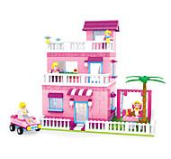 Building Blocks Toys House Garden Theme Fairytale Theme Houses Cartoon Design Princess Kids Boys 501 Pieces