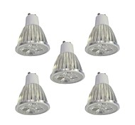 cheap -5pcs 5W 400lm GU10 LED Spotlight 5 LED Beads High Power LED Dimmable White 110-120V