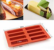 Недорогие -Формы для пирожных Квадратный Для торта Для получения хлеба Cupcake Торты Хлеб Силикон
