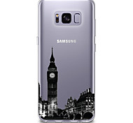 Case For Samsung Galaxy S8 S7 Ultra-thin Transparent Pattern Back Cover City View Soft TPU for S8 Plus S8 S7 edge S7 S6 edge plus S6 edge
