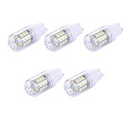 cheap -5pcs 2W 150 lm GU10 LED Corn Lights T 30 leds SMD 5730 White 110-120