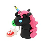 2gb usb 2.0 cartoon unicorn cavalo usb flash drive disco fofo memory stick pen drive presente pen drive
