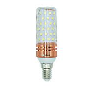 Недорогие -BRELONG® 1 ед. 16W 1300 lm E14 LED лампы типа Корн 84 светодиоды SMD 2835 Тёплый белый Белый Двойной цвет источника света AC 220-240V