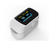 cheap -Accurate FS20D White Color OLED Fingertip Pulse Oximeter Oximetry Blood Oxygen Saturation Monitor with batteries