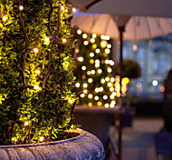 12M 100 Led Solar Powered Led Fairy String Lights For Outdoor Gardens Homes Christmas Party