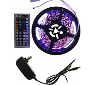 5M 300x2835LED Light Sets Waterproof No Waterproof RGB 44 key controller AC100-240V AU / EU / US / UK Power Plug  DC12V 2A