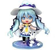economico -Figure Anime Azione Ispirato da Vocaloid Snow Miku CM Giocattoli di modello Bambola giocattolo