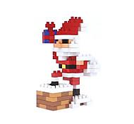 baratos -Blocos de Construir 155pcs Papai Noel Natal Ternos de Papai Noel Natal Férias Pessoas Brinquedos Dom