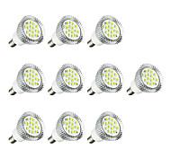 10pçs 3W E14 Lâmpadas de Foco de LED E14 / E12 16 leds SMD 5630 Luzes LED Branco Quente Branco 260-300lm 3000-3500/6000-6500K AC 220-240V