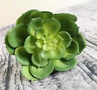 Недорогие -Искусственные Цветы 1 Простой стиль Суккулентные растения Букеты на стол / Не включено
