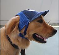 Недорогие -Кошка Собака Шляпы, колпаки, банданы Одежда для собак На каждый день Лолита Буквы и цифры Кофейный Синий Костюм Для домашних животных