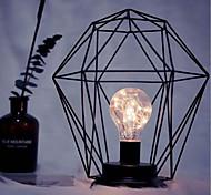 Недорогие -1pc привело минимализм железа искусства ночной свет E14 алмаз / цилиндр формы батареи без батареи