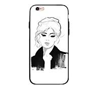 abordables -Funda Para Apple iPhone X iPhone 8 Plus Diseños Funda Trasera Chica Sexy Suave TPU para iPhone X iPhone 8 Plus iPhone 8 iPhone 7 Plus