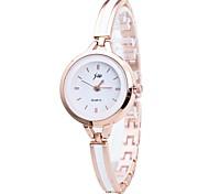 Недорогие -Жен. Модные часы Нарядные часы Наручные часы Китайский Кварцевый Металлический сплав Группа Роскошь На каждый день Серебристый металл