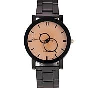 Men's Women's Wrist watch Fashion Watch Chinese Quartz Alloy Band Black