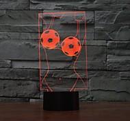 Недорогие -искусство прикосновение dimming 3d привело ночник 7colorful украшения атмосфера лампа новинка освещение свет