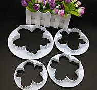 Недорогие -Формы для нарезки печенья конфеты Для Cookie Для торта Торты ABS Своими руками Антипригарное покрытие Высокое качество Инструмент выпечки