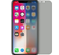 cheap -Screen Protector for Apple iPhone X Tempered Glass 1 pc Front Screen Protector Explosion Proof Scratch Proof Privacy Anti-Spy