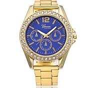 Недорогие -Муж. Жен. Модные часы Нарядные часы Наручные часы Китайский Кварцевый Металл сплав Группа Роскошь