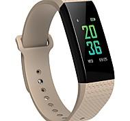 Недорогие -bym мужская женщина новый b12 цветной экран умный браслет сердечного ритма тренировка сна контроль водонепроницаемый против потерянный